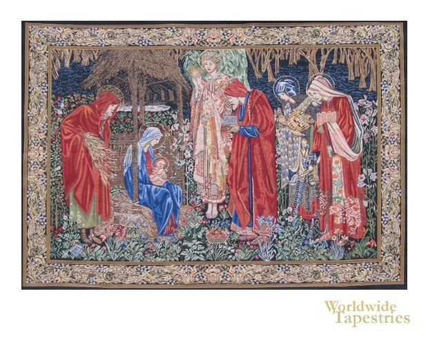 The Adoration of the Magi II - with border