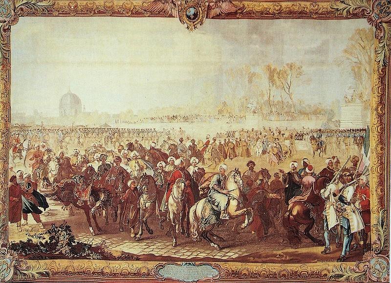 Gobelins tapestry historical