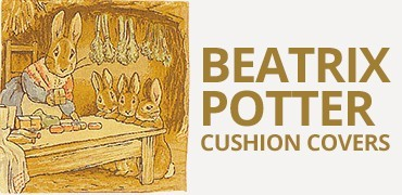Beatrix Potter Tapestry Cushion Covers