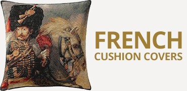 French Tapestry Cushion Covers