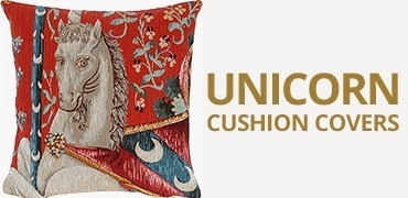 Unicorn Tapestry Cushion Covers