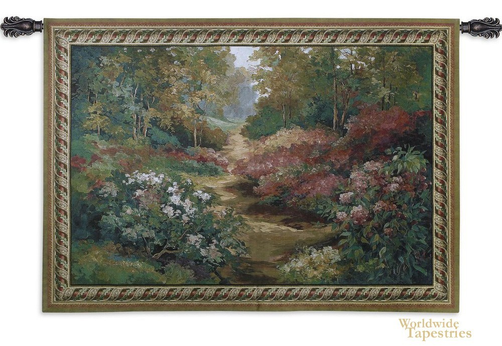 Along the Garden Path Tapestry