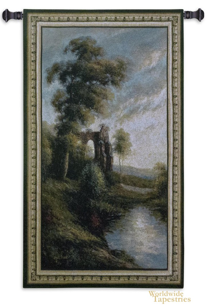 Ancient Ruins II Tapestry