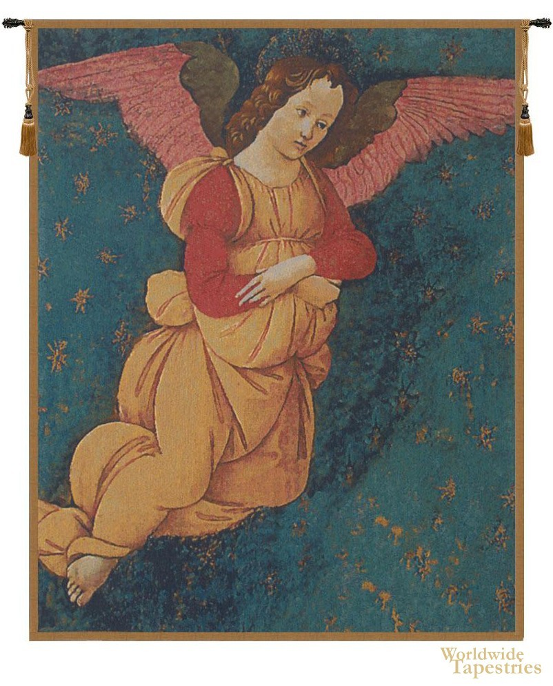 Angels (Altarpiece Vertical) Tapestry