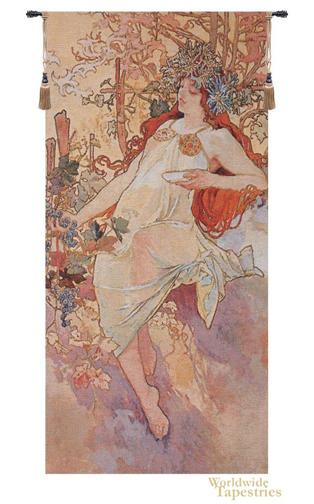 Autumn - Mucha