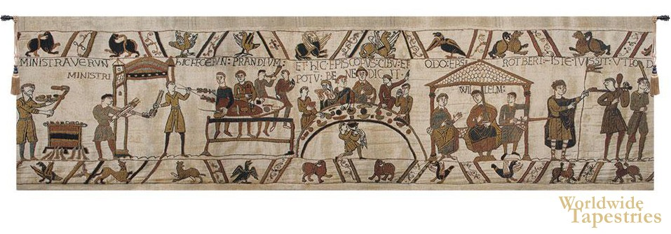 Bayeux Banquet Tapestry