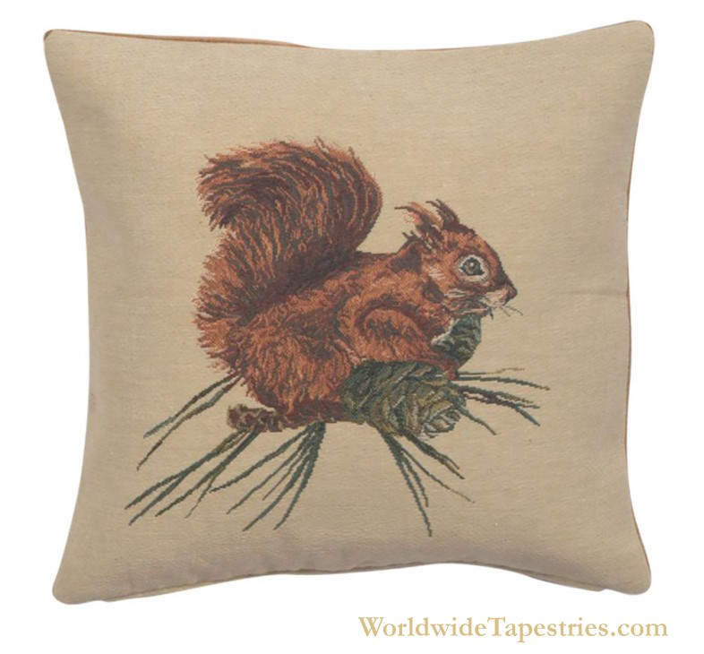 Beatrix Potter Squirrel Nutkin Cushion Cover