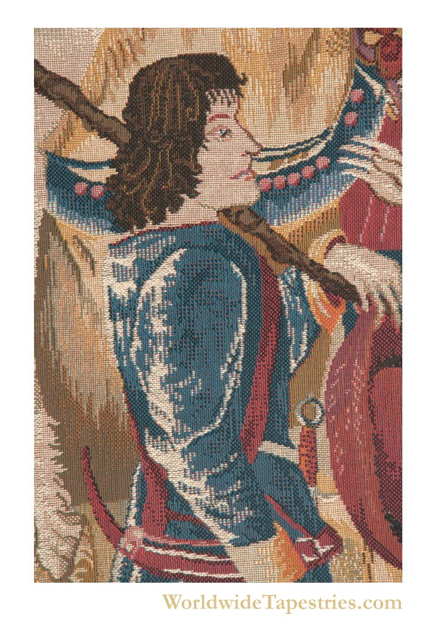 Death Of The Unicorn Unicorn Tapestry Worldwide Tapestries