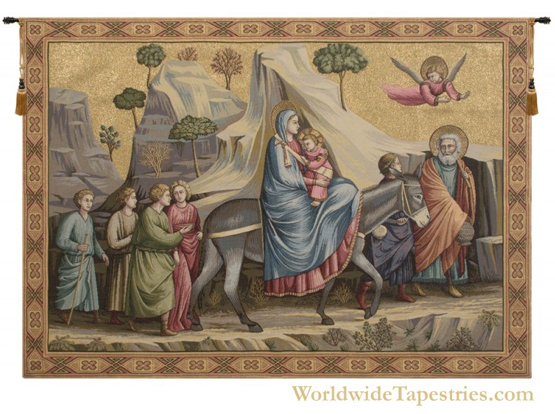 Flight into Egypt Tapestry