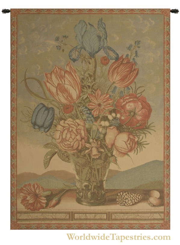 Gathered Bouquet Tapestry
