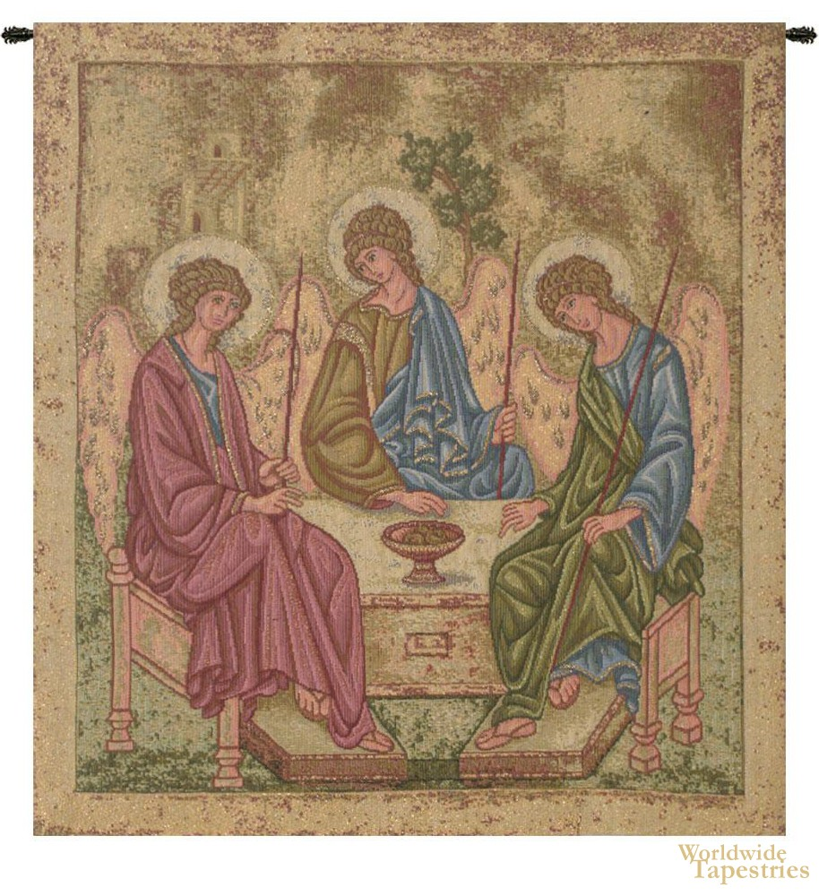 Holy Trinity (Icon) Tapestry