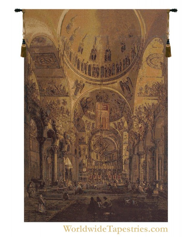 Inside San Marco Tapestry