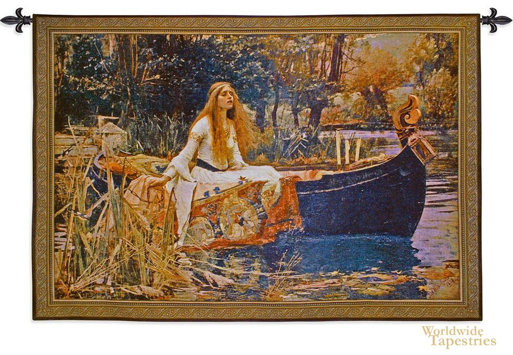 Lady of Shalott Tapestry