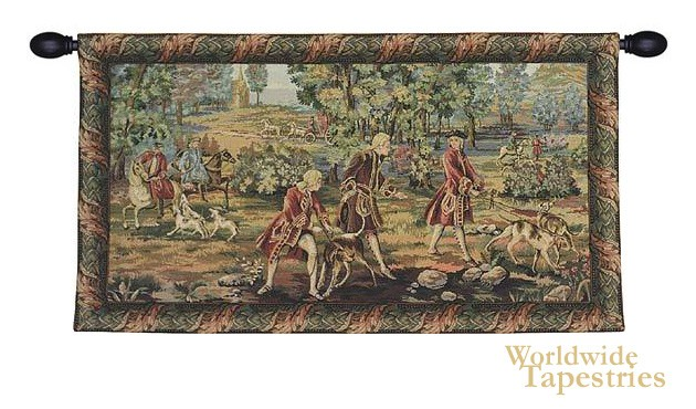 Louis XV Hunting I Tapestry