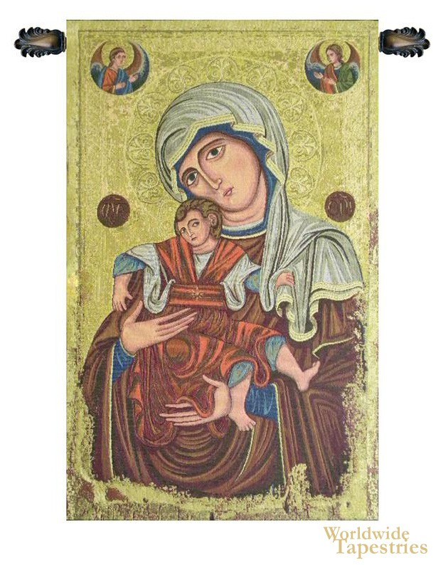 Madonna Delle Vittorie Tapestry