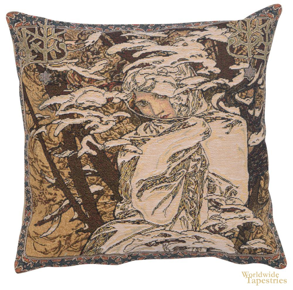 Mucha Winter Cushion Cover