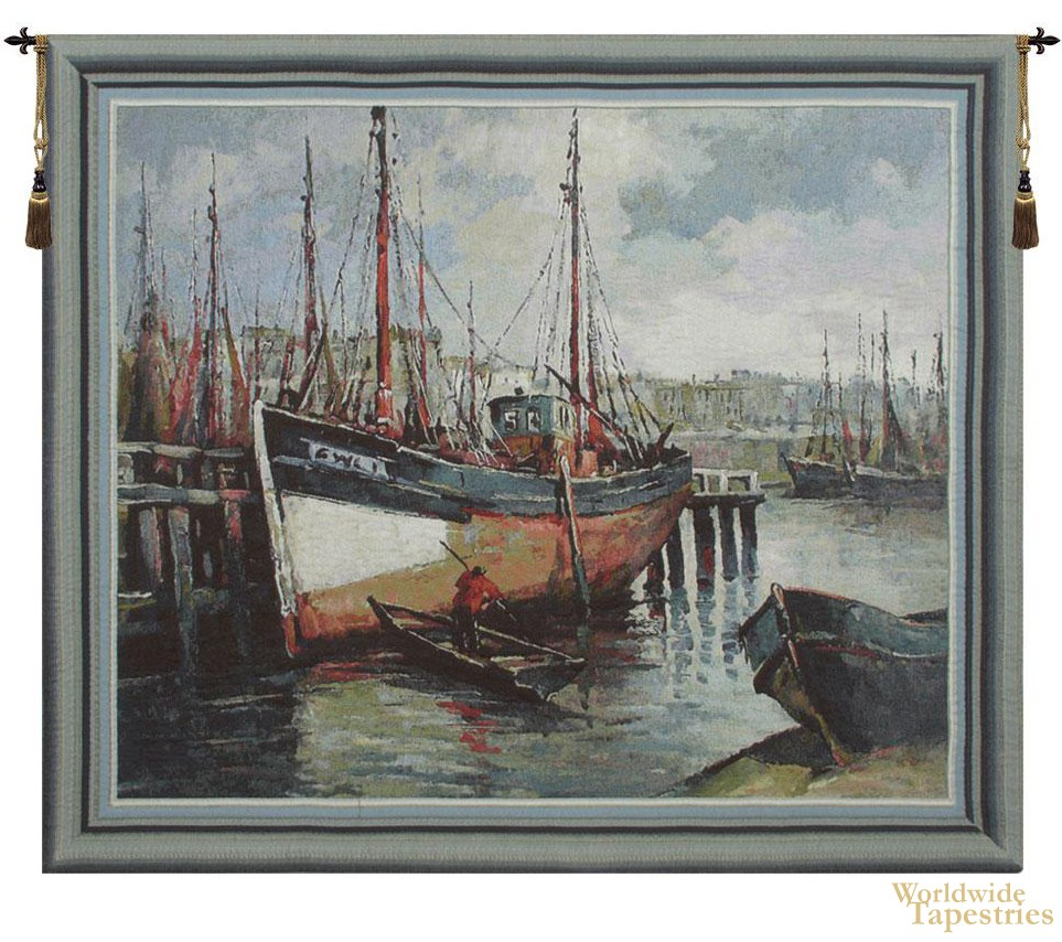North Sea Harbour Tapestry