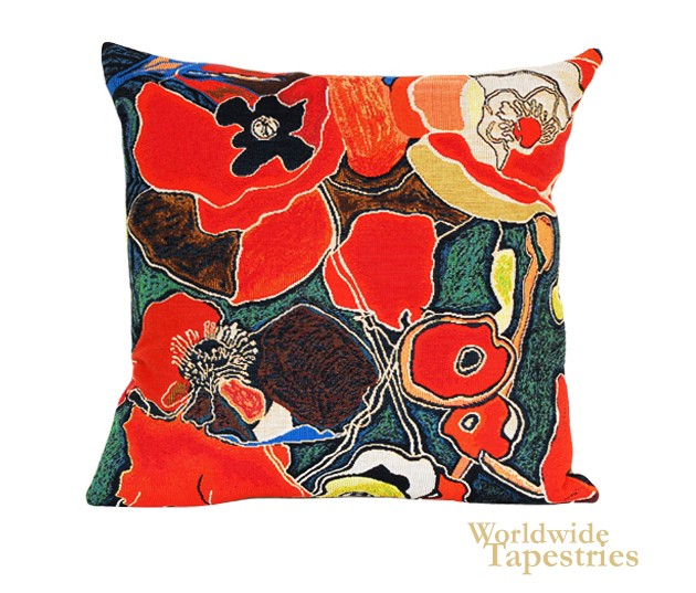 Pavots Cushion Cover