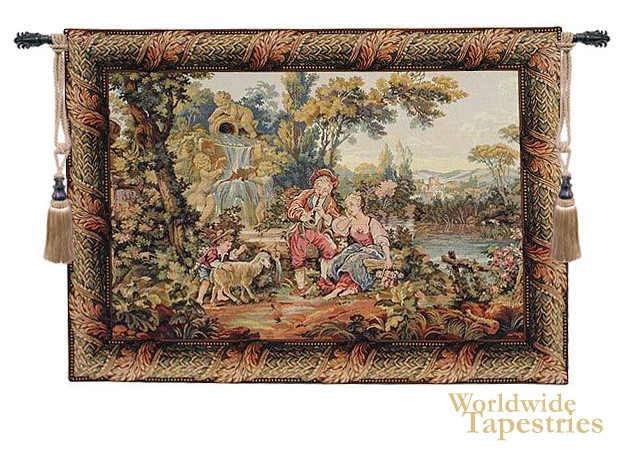 Romantic Musical Interlude Tapestry