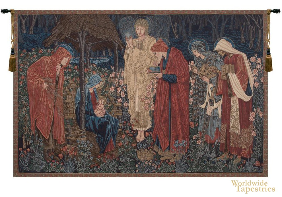 The Adoration of the Magi III Tapestry