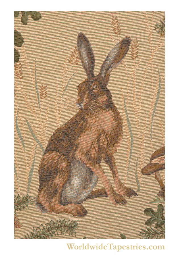 The Hare Cushion Cover