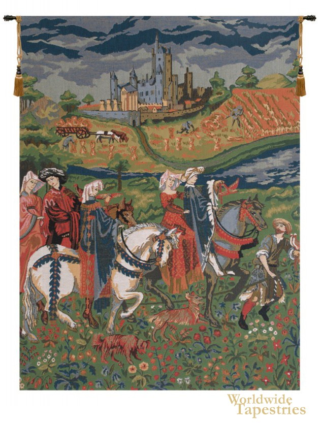 The Month of August - No Border Tapestry