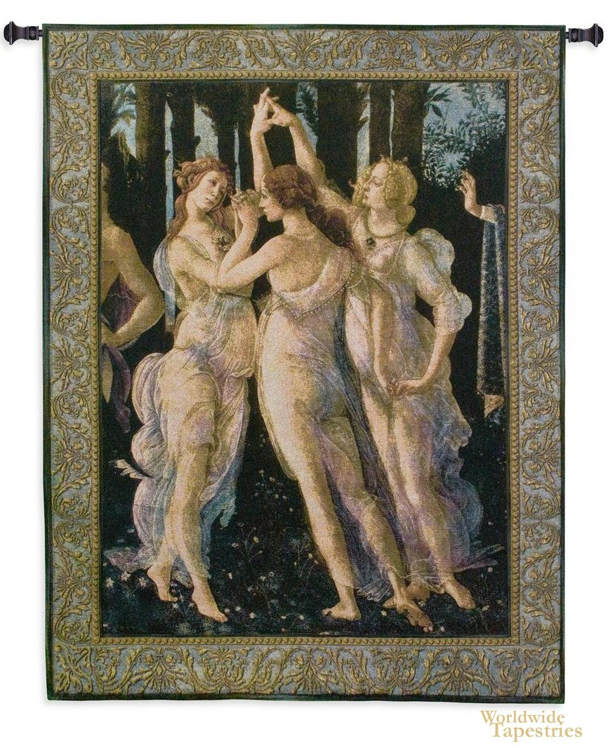 The Three Graces Tapestry