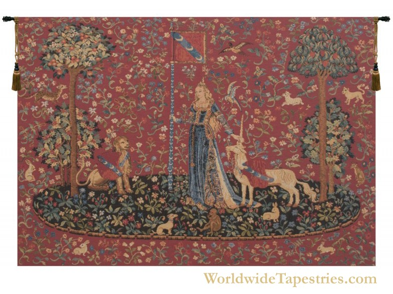 Touch (Le Toucher) II Tapestry