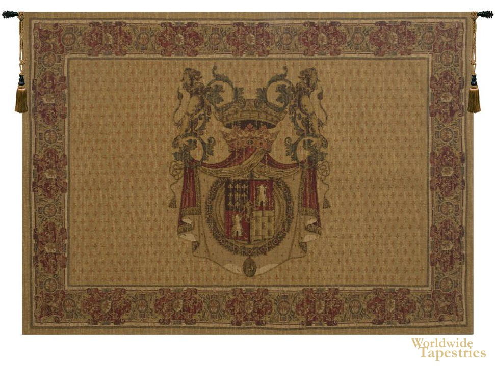Tours Crest - Horizontal Tapestry