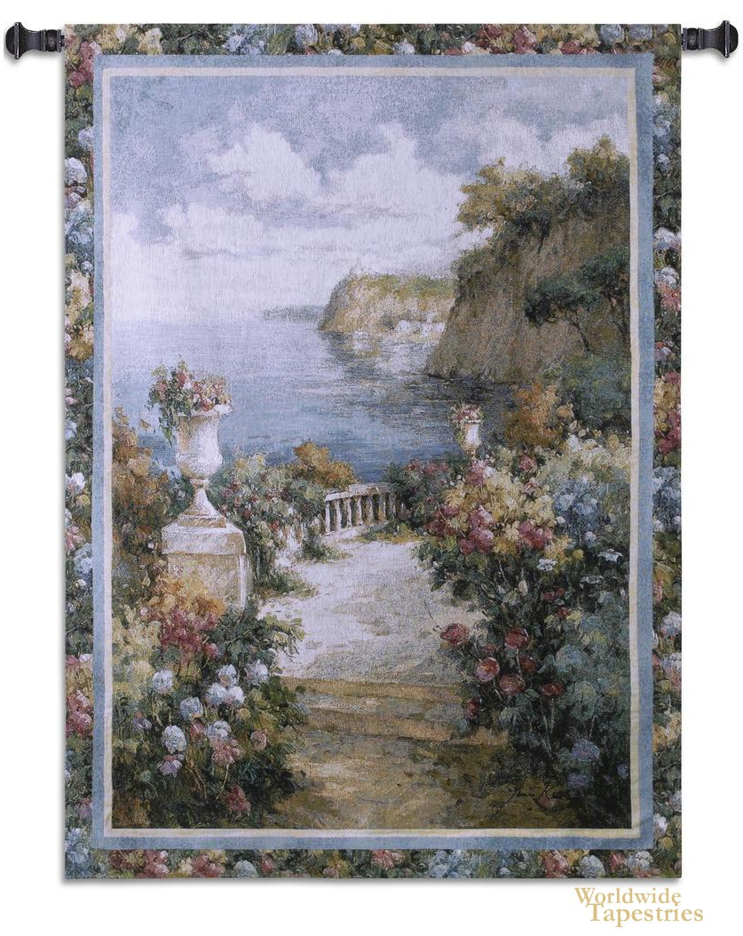 Tranquil Overlook Tapestry