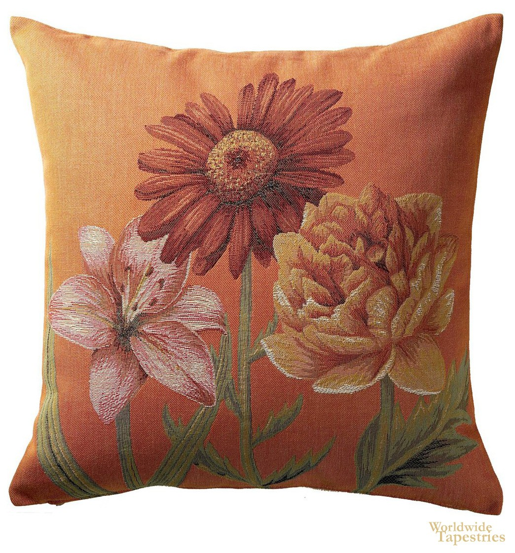 Trousse Fleurs Vives Cushion Cover