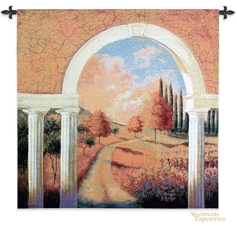 Tuscan Archway Tapestry