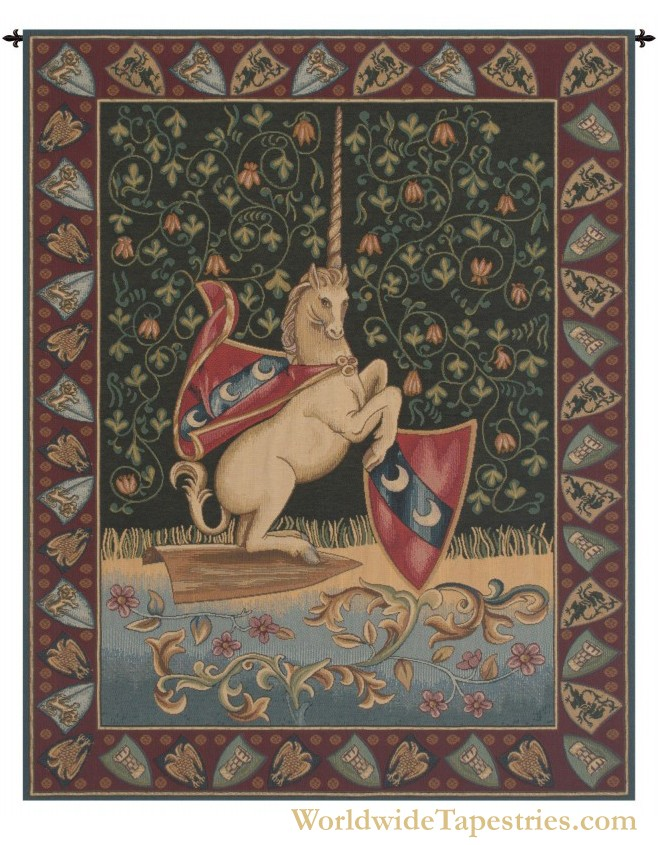 Unicorn Medieval Tapestry