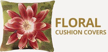 Floral Tapestry Cushion Covers