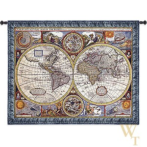 A New and Accurate Map Tapestry