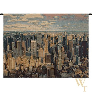 A New York Day Tapestry