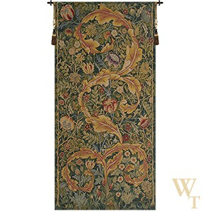 Acanthe Green Medium Tapestry