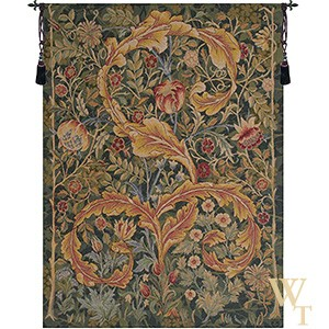 Acanthe Green Small Tapestry