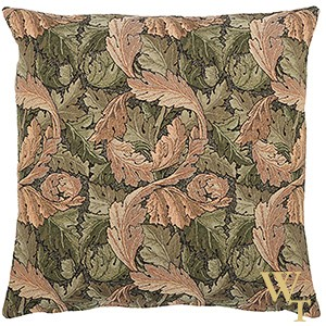 Acanthus Leaf Gold Cushion Cover