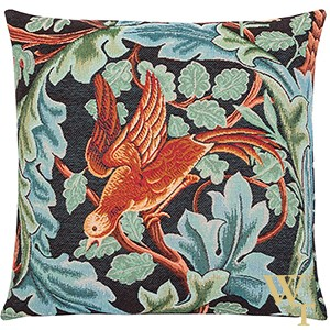Acanthus Parrot Cushion Cover