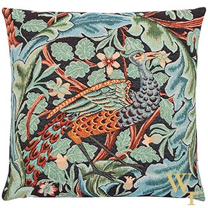 Acanthus Peacock Cushion Cover