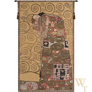 Accomplissement II - Klimt Tapestry