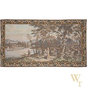 Afternoon in Lake Como Tapestry