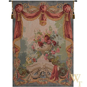 Amphora Bouquet Tapestry