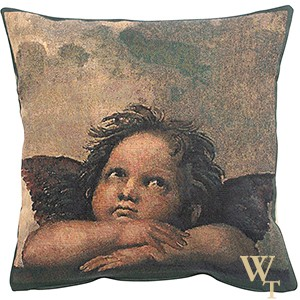 Angels by Raffael - Right - Cushion Cover