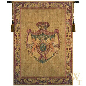 Angouleme Crest Tapestry