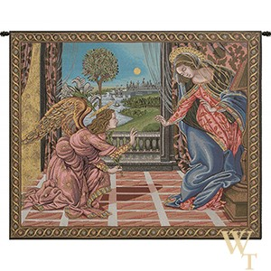 Annunciation - Botticelli Tapestry