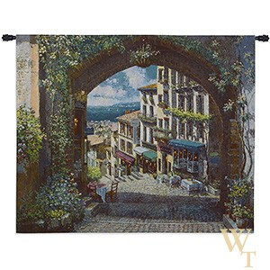 Arch de Cagnes Tapestry