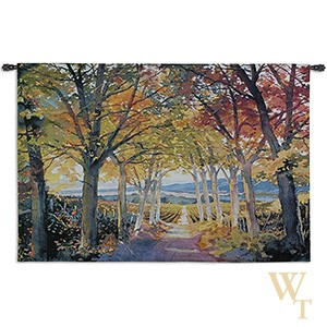 Autumn Path Tapestry