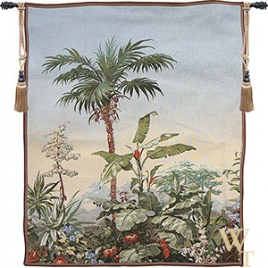 Bananier Paysage Exotique Tapestry